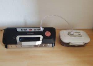 Vakuumieren-Außenvakuumierer-Behälter