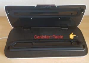 Vakuumierer-Rommelsbacher-VAC110-Canister