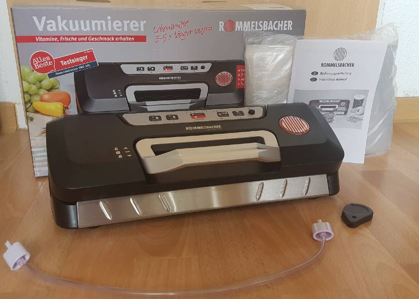 Vakuumierer-Rommelsbacher-VAC285-Starterpaket