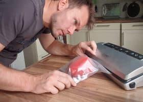 Vakuumiergerät - Vakuumierprüfung